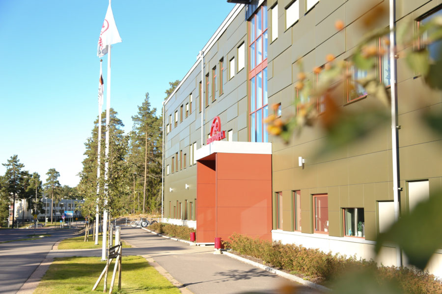 Skolentrén till Prolympia Gävle