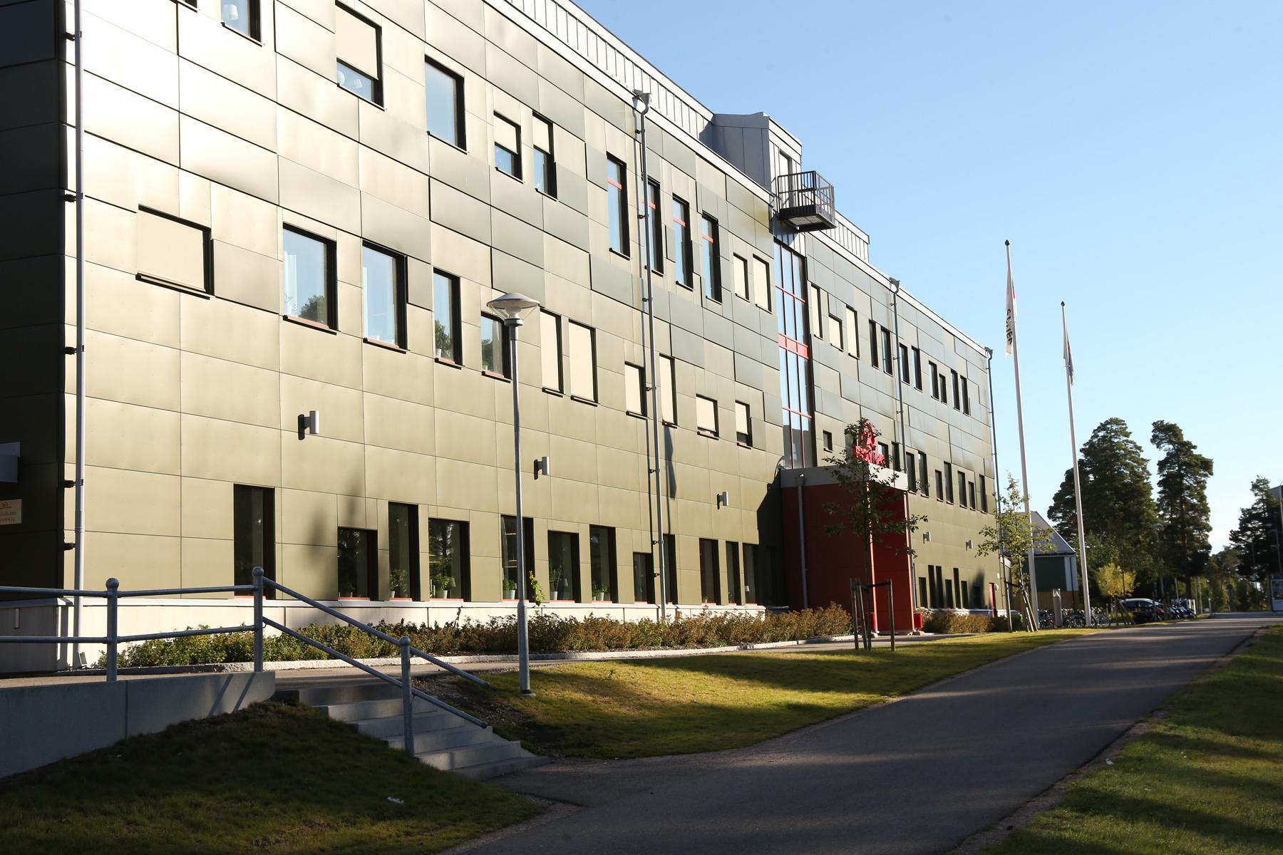 Prolympia Gävles skolbyggnad