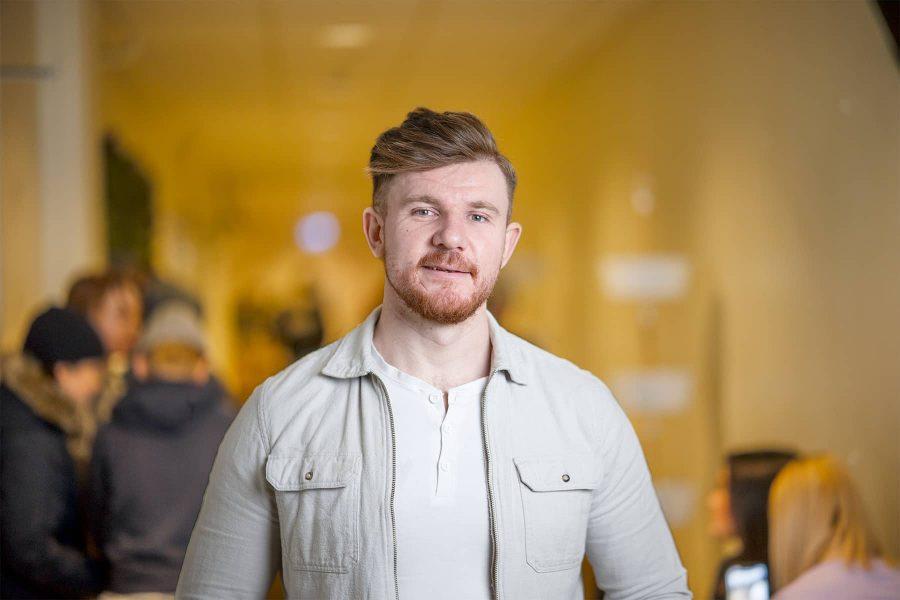Omer Hotic, lärare på Prolympia