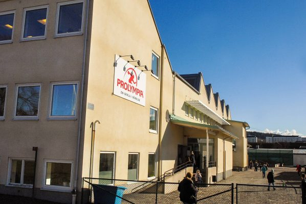 Prolympia Jönköpings skolbyggnad