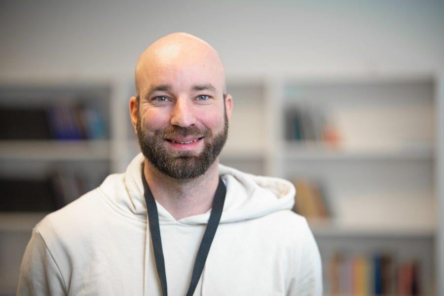 Porträttbild på Michael Ljungqvist