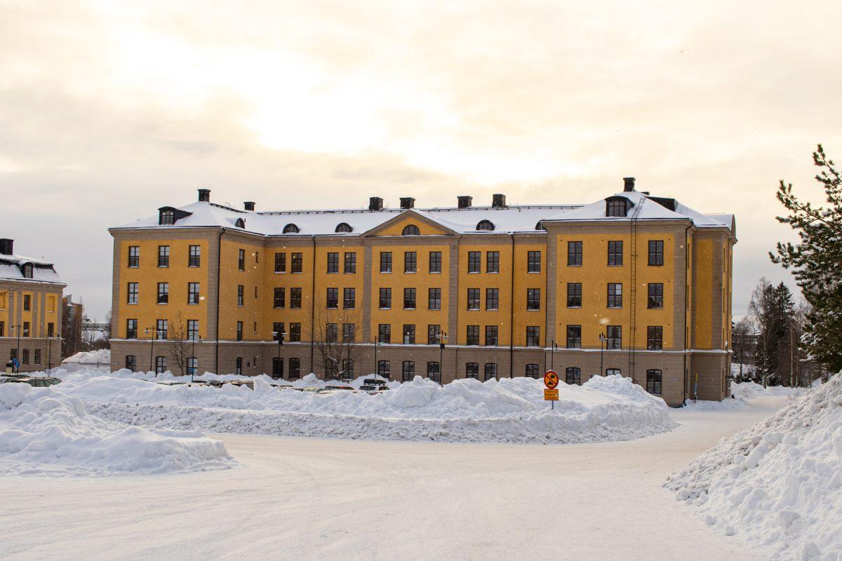 Skolbyggnaden Prolympia Umeå