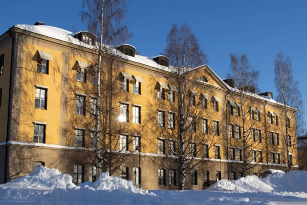 Skolbyggnad Prolympia Umeå
