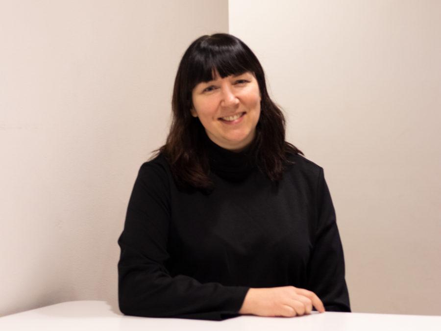 Porträttbild på Viktoria Bergström