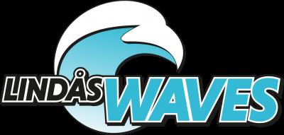 Klubbmärke Linås Waves