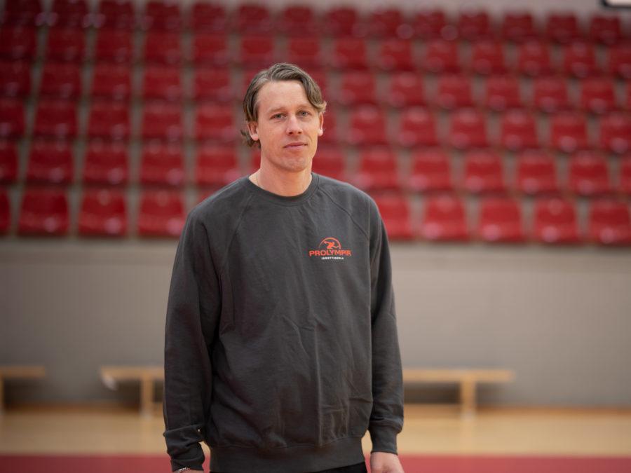 Porträttbild på Olle Johnels