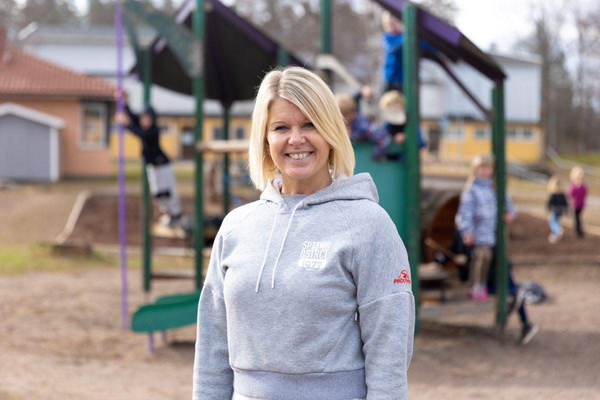 Porträttbild på Carina Närklin Andersson