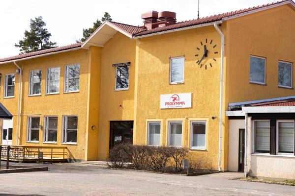 Prolympia Virserum skolbyggnad