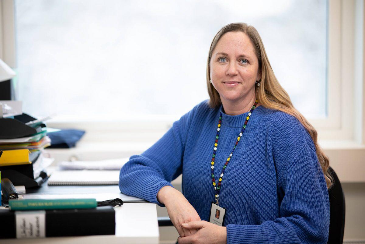 Porträtt på en lärare på Prolympia