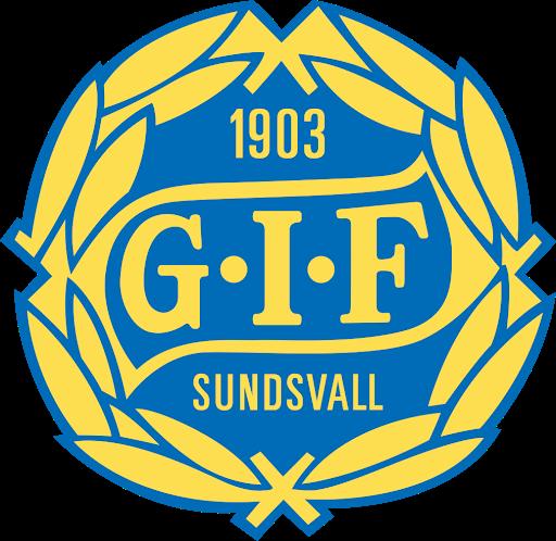 Klubbmärke för GIF Sundsvall