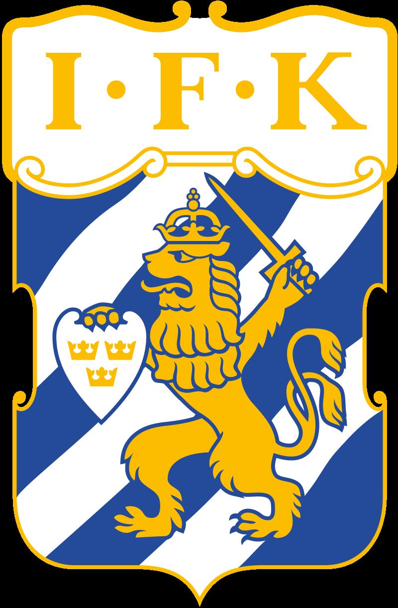 Klubbmärke för IFK Göteborg