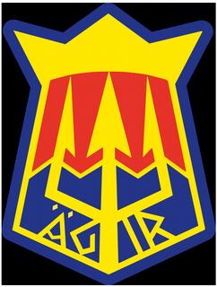 Klubbmärke SK Ägir