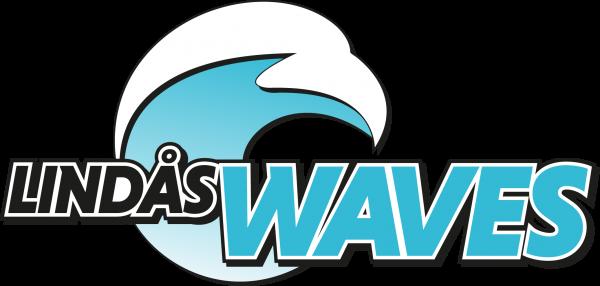 Klubbmärke Lindås waves